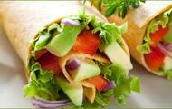 vegetables taste great in a wrap
