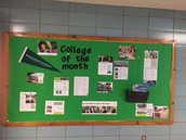 January College of the Month