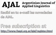 ARGENTINIAN JOURNAL OF APPLIED LINGUISTICS