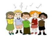 Our Winter sign club will be 'caroling' on Friday.