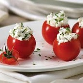 Riccota Stuffed Tomatoes