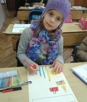 Dilyara 2nd grade little student