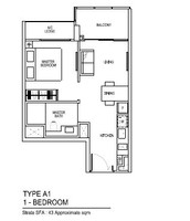 1 Bedroom from $6xxK