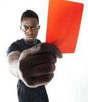 מוציאים כרטיס אדום לגזענות