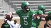 UNT Quarterbacks Fight for Starting position for the Spring Game