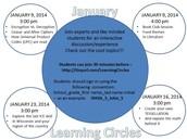 January Learning Circles!