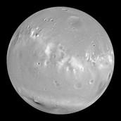 One of Mars' moon, Phobos