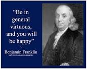 The Virtues of Ben Franklin's 13-Week Plan