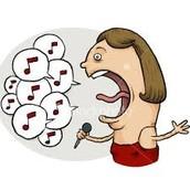 Mi padre canto mucho.