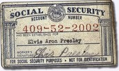 Social Security Act Card