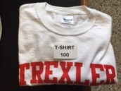 Trexler T-shirt = 100 stamps
