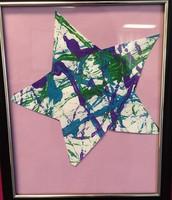 Pre- K Class - Framed Star