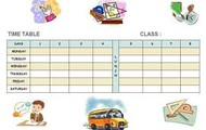 Class Time-Table