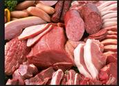 Debes comer mucha la carne.
