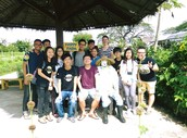 ZenXin Organic Park (NGO) visit to explore the working circumstances of exchange participants.
