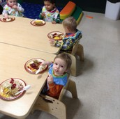 Toddlers first Feast!