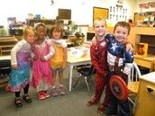 Friends in Dramatic Play Center