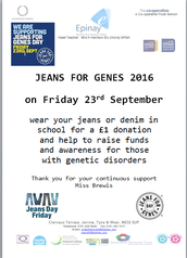Jeans for Genes 2016