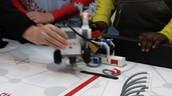 Examining a robot