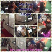 Mystery Number Skype with Mrs. Spikes' Class