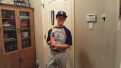 Matt in his High School Baseball Uniform