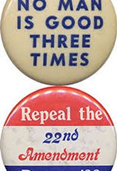 4. 22nd Amendment