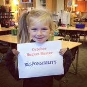 Responsibilty Bucket Buster- October