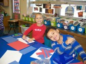 CREATING OUR OWN FLAGS!