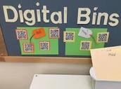 Digital Text Bins