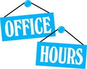 Comprehensive Planning Office Hours