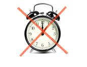 Alarm clocks never worked better.