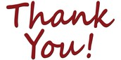 A Special Thank You To: