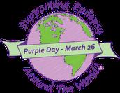 Keep Calm and Wear Purple !