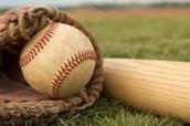 ball, glove and bat