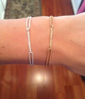 Pave Wishing Bracelet