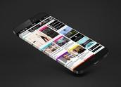 iPhone 6 with a wraparound, bezel-free display