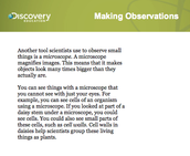 Making Observations Page 2