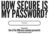 Protect your Passwords.  Never share your passwords. Use strong passwords