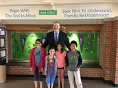 State Superintendent of Education Tony Smith Visits Kipling