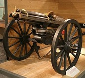 Older Gatling Gun