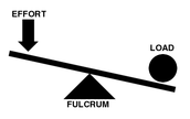 Load, Fulcrum, and Effort