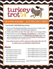 Using Turkey Trotters is a FUN and EASY why to kick off YOUR December!