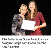 PTA Reflections winner
