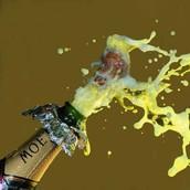 如果喝不夠,當晚也有香檳