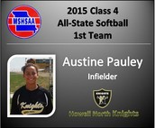 Austine Pauley Named All-State