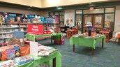 The Fall Book Fair is Ready for Shoppers!!