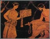 Odysseus and Calypso