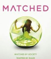 April-  Matched By: Ally Condie