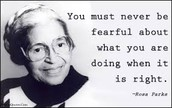 quote from Rosa Parks