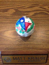 Fossil Ridge Student's Ornament to be on Dispay at State Capitol